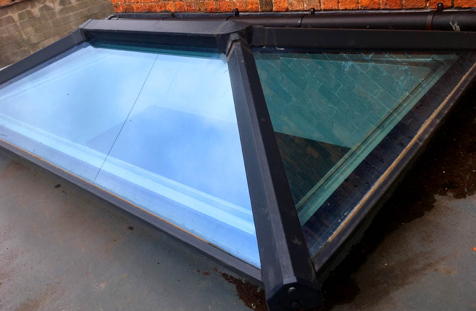 SkyPods - Pitched PVC-U Skylights in Retford