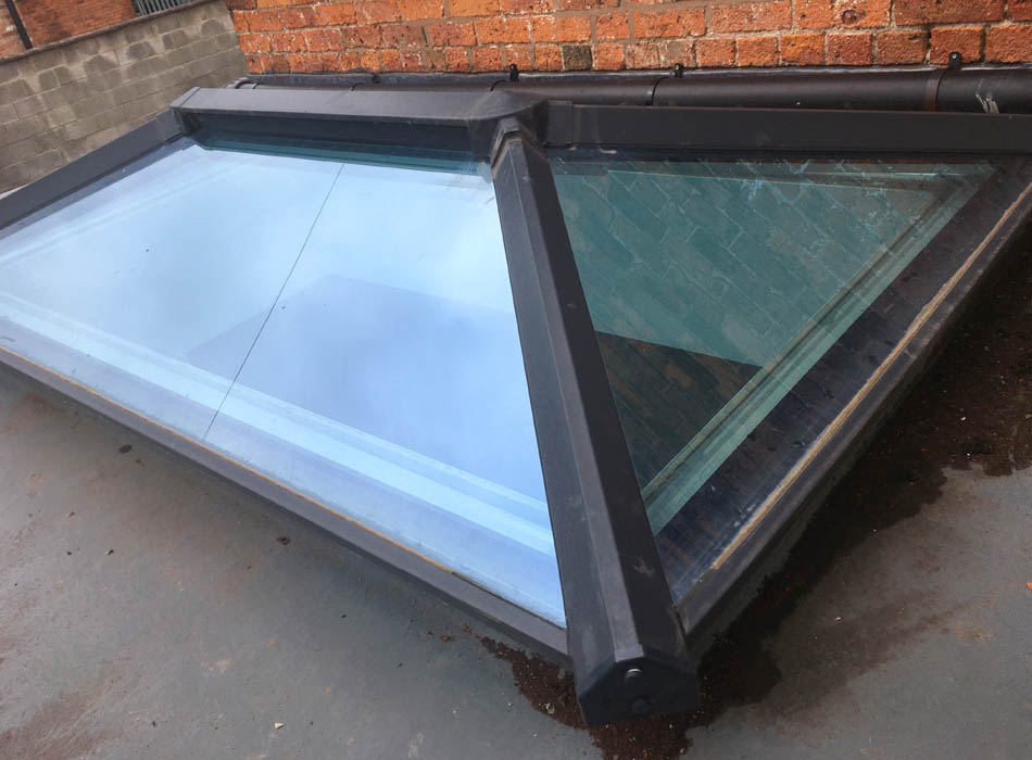 Pitched PVC-U Skylights and Skypods in Retford