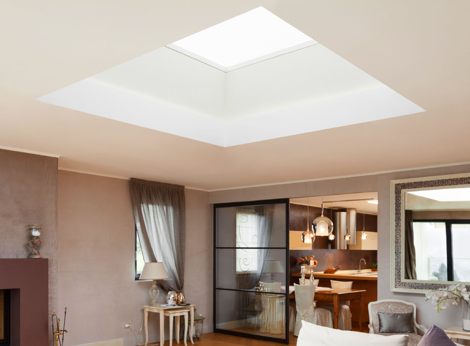 SkyPods, Ceiling Windows and Roof Lanterns available from New Vision Windows